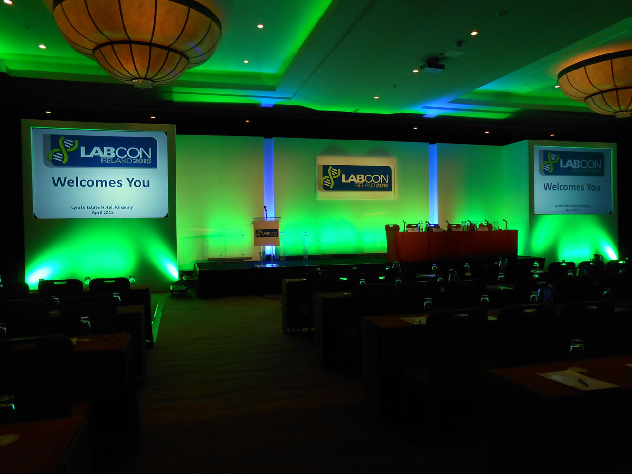 Labcon Ireland Conference - Lyrath Estate Hotel